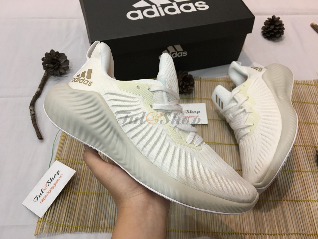 Adidas Alphabounce Beyond Trắng Full 2019 Nam, Nữ