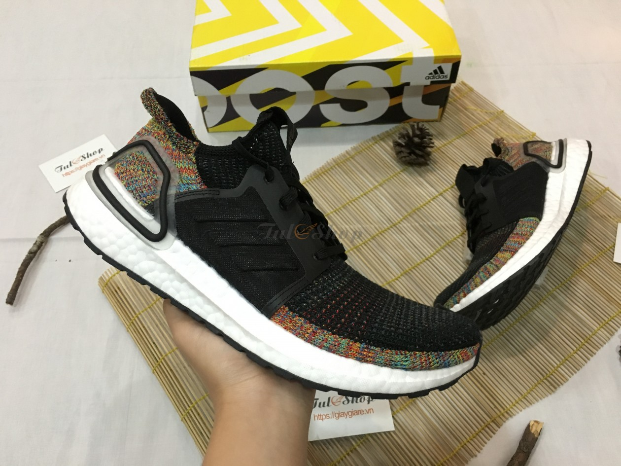 Adidas ultra boost 5.0 black multi-color rep 1:1 2019