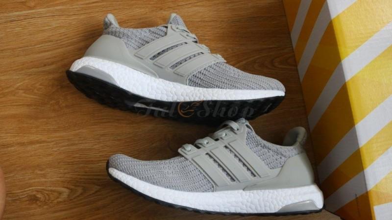 buy online ce529 56773 Adidas Ultra Boost xám đế trắng 1 1