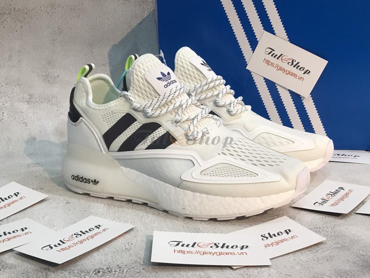 Adidas ZX 2K Boost Cream Black & White 1:1