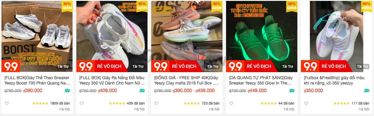 Phân biệt chất lượng giày replica, super fake & fake 1 chuẩn 2020