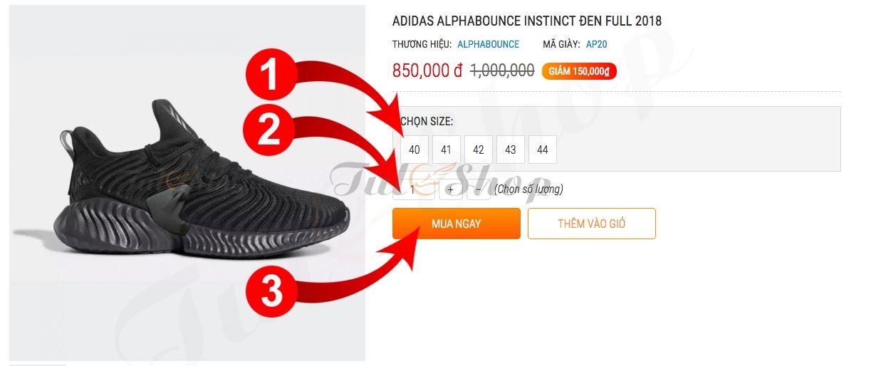 e0ebe0d6c4a Hướng dẫn mua hàng của shop giày thể thao nam & nữ giá rẻ replica