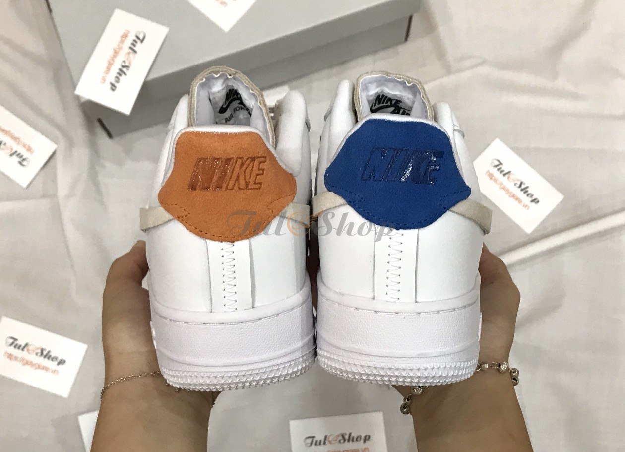Air Force 1 07 Lux White Platinum Tint Game Royal