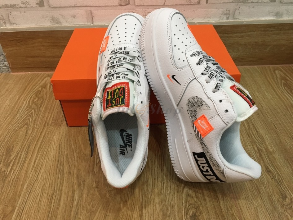 NIKE AIR FORCE 1 JUST DO IT DA NHÁM NAM, NỮ