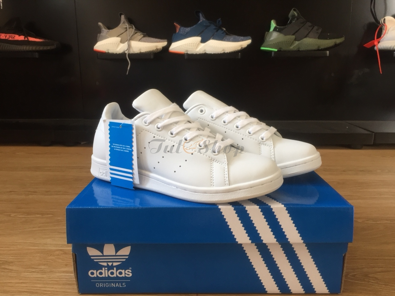 Stan smith trắng full nam, nữ