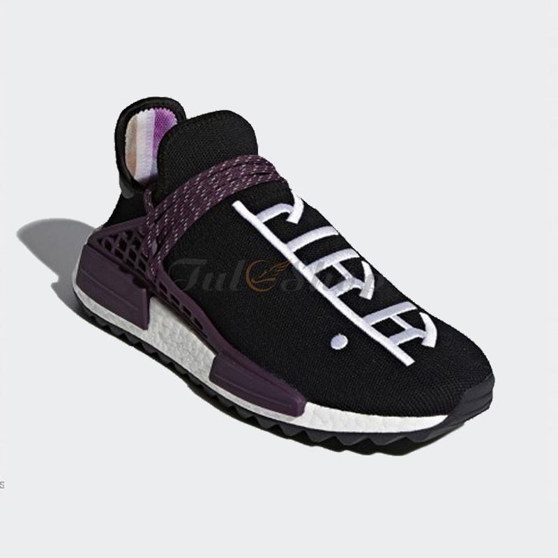 size 40 16ca3 ae600 Giày Adidas NMD Human Race Equality Đen Tím Nam, Nữ Replica 1:1