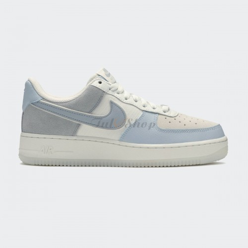 Nike Air Force 1 Low 07 Light Amory Blue Off White