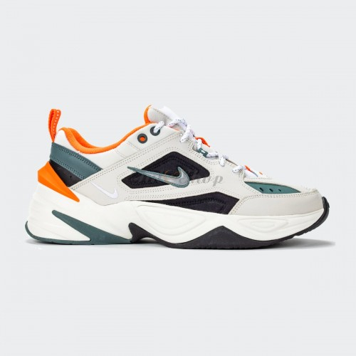Nike M2K Tekno Cream White Orange Nam