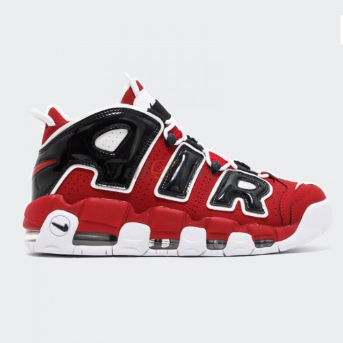 Nike Air More Uptempo 96 Bulls Chicago Đỏ Đen