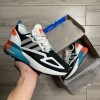 Adidas ZX 2K Boost Core Black Orange Cyan 1:1