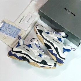 Balenciaga Triple S Purple White Grey Nam Nữ 2019