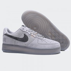 NIKE AIR FORCE 1 DA LỘN XÁM NAM REP 1:1