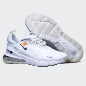 NIKE AIR MAX 270 TRẮNG OFF WHITE NAM, NỮ