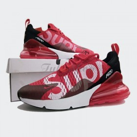 Nike air max 270 x supreme red - đỏ nam, nữ