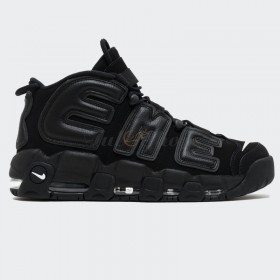 Nike Air More Uptempo Supreme Black Nam Nữ