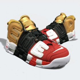 NIKE Air More Uptempo Supreme X Tri-Color 2018
